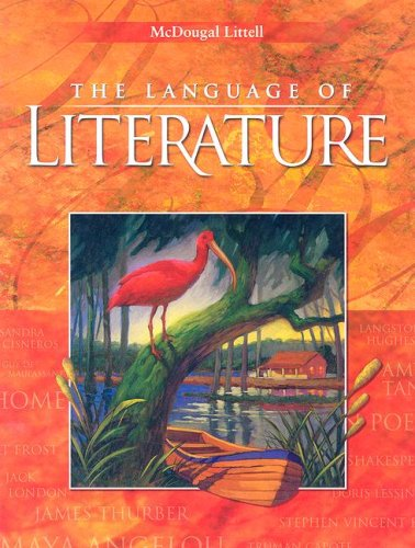 Language of Literature  Student Manual, Study Guide, etc. edition cover
