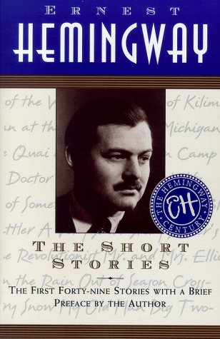 Short Stories of Ernest Hemingway   1966 edition cover