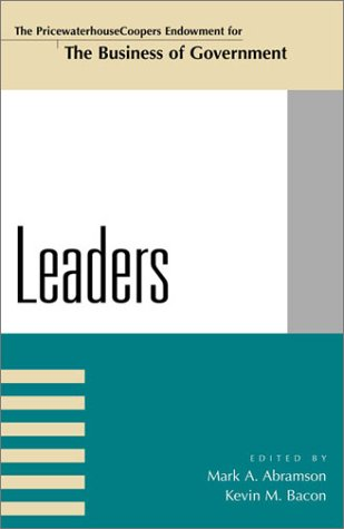 Leaders  N/A 9780742523340 Front Cover