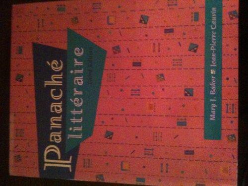 Panach� Litt�raire  3rd 1995 edition cover