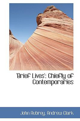 Brief Lives': Chiefly of Contemporaries  2009 edition cover