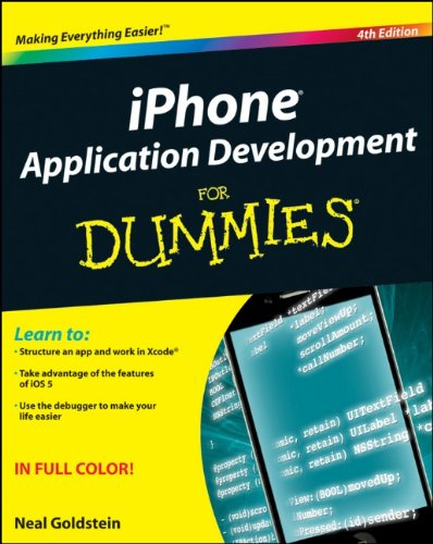 iPhone Application Development for Dummies  4th 2012 9781118091340 Front Cover