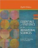 Essentials of Statistics for the Behavioral Sciences: 8th 2013 edition cover