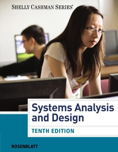 Systems Analysis and Design (With MIS Coursemate With Ebook Printed Access Card): 10th 2013 edition cover