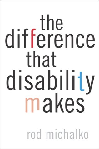 Difference That Disability Makes   2002 edition cover