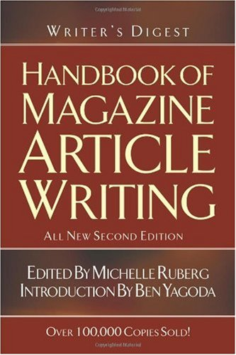 Handbook of Magazine Article Writing  2nd 2004 (Revised) 9781582973340 Front Cover