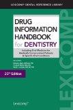 Drug Information Handbook for Dentistry:   2014 edition cover