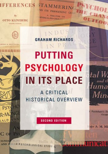 Putting Psychology in Its Place Critical Historical Introduction 2nd 2002 (Revised) 9781841692340 Front Cover