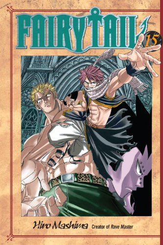 Fairy Tail 15   2008 9781935429340 Front Cover