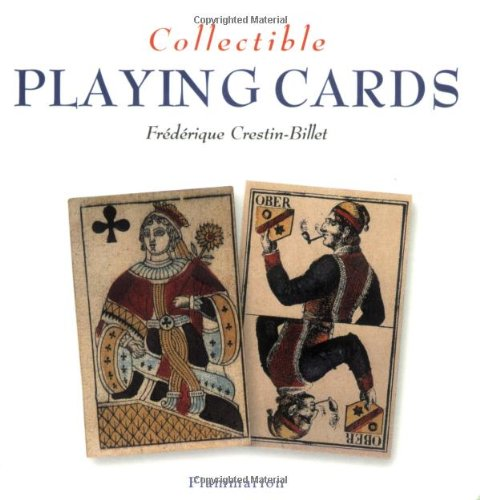 Collectible Playing Cards   2003 9782080111340 Front Cover