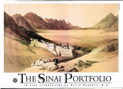 Sinai Portfolio  N/A edition cover