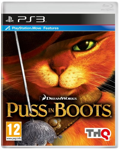 Puss in Boots (PS3) PlayStation 3 artwork