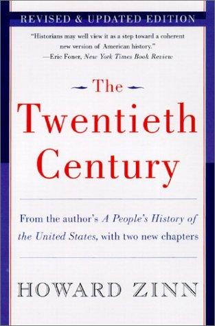 Twentieth Century A People's History  2003 edition cover