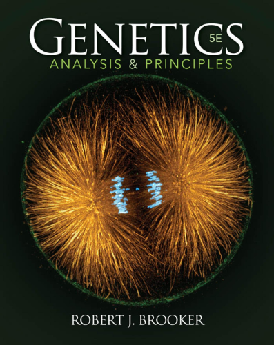 Genetics Analysis and Principles 5th 2015 edition cover