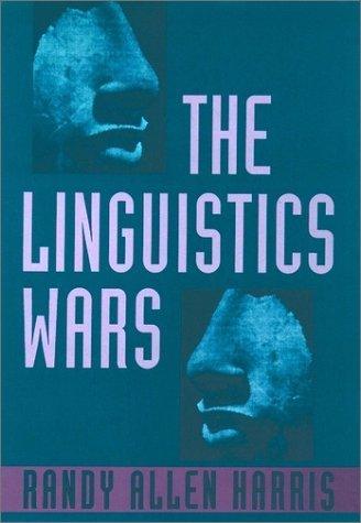 Linguistics Wars  Reprint  edition cover