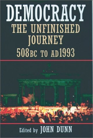 Democracy The Unfinished Journey, 508 BC to AD 1993  1992 edition cover