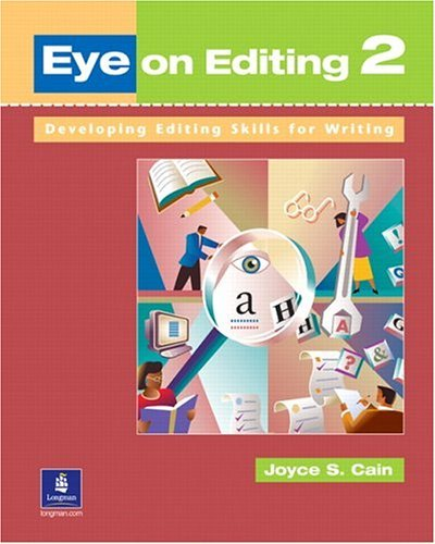 Eye on Editing 2 Developing Editing Skills for Writing  2003 edition cover