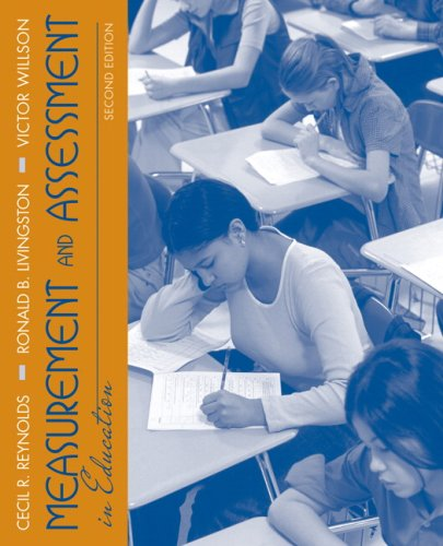 Measurement and Assessment in Education  2nd 2009 edition cover