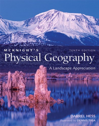 McKnight's Physical Geography A Landscape Appreciation 10th 2011 edition cover