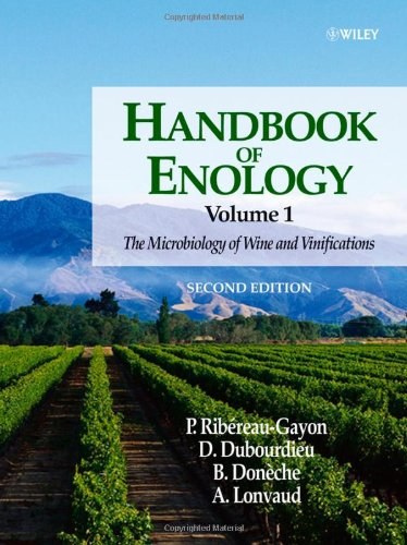 Handbook of Enology The Microbiology of Wine and Vinifications 2nd 2006 (Revised) edition cover