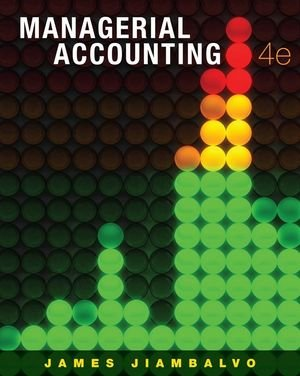 Managerial Accounting  4th 2010 edition cover