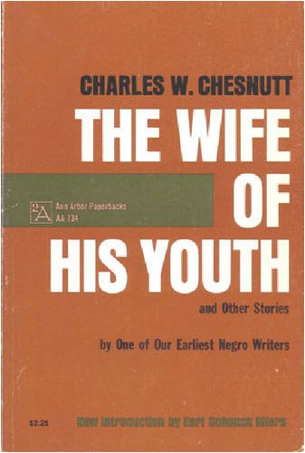 Wife of His Youth and Other Stories  Reprint  9780472061341 Front Cover