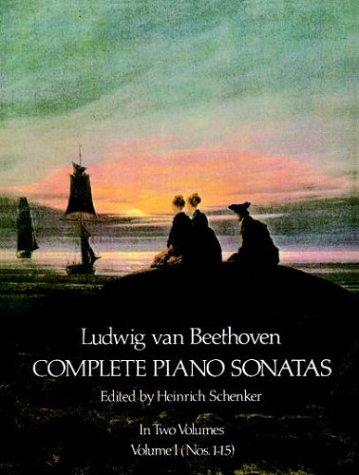 Complete Piano Sonatas  Reprint edition cover