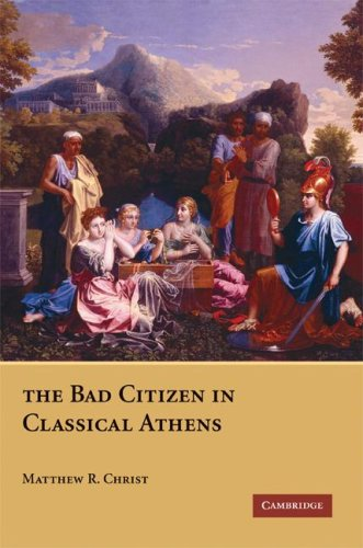 Bad Citizen in Classical Athens  N/A edition cover