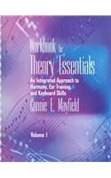 Theory Essentials   2003 (Workbook) 9780534572341 Front Cover
