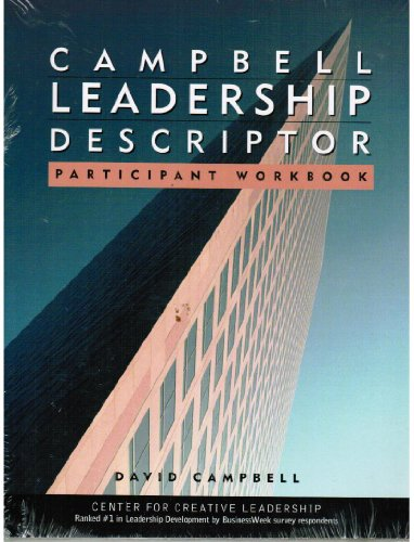 Campbell Leadership Descriptor Participant's Package   2002 edition cover