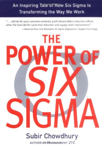 Power of Six Sigma   2001 edition cover