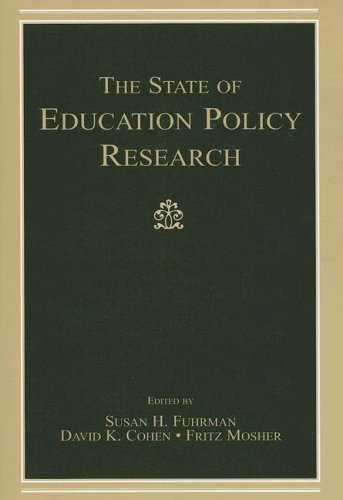 State of Education Policy Research   2007 edition cover