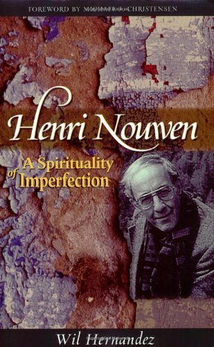 Henri Nouwen A Spirituality of Imperfection  2006 edition cover