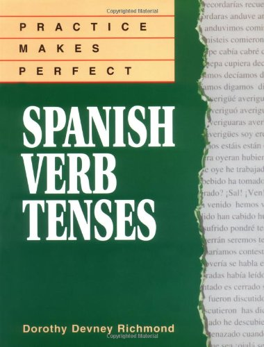 Spanish Verb Tenses   1996 edition cover