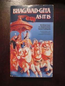 Bhagavad-Gita As It Is 1st (Reprint) edition cover