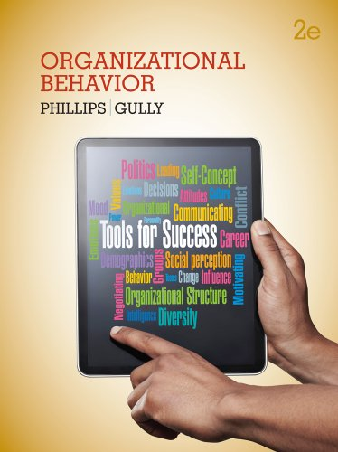 Organizational Behavior Tools for Success 2nd 2014 edition cover