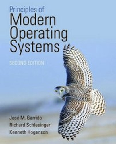 Principles of Modern Operating Systems  2nd 2013 edition cover