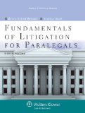Fundamentals of Litigation for Paralegals  8th edition cover