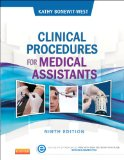 Clinical Procedures for Medical Assistants  9th 2014 edition cover