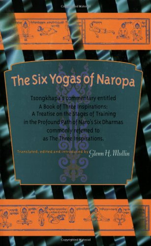 Six Yogas of Naropa  N/A 9781559392341 Front Cover