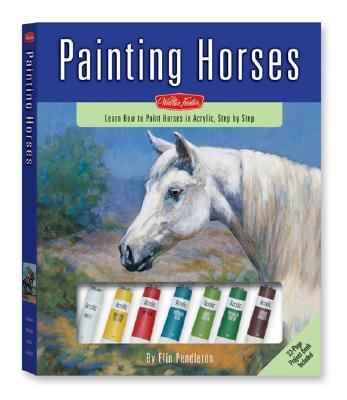 Painting Horses Learn to Paint Horses in Acrylic, Step by Step N/A 9781560109341 Front Cover