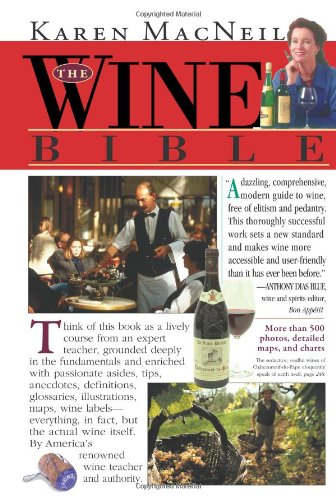 Wine Bible   2001 9781563054341 Front Cover