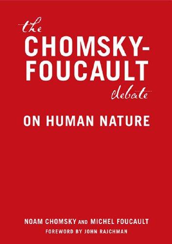 Chomsky-Foucault Debate On Human Nature  2006 edition cover