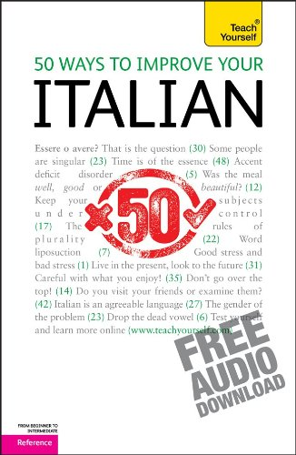 50 Ways to Improve Your Italian   2011 9780071746342 Front Cover