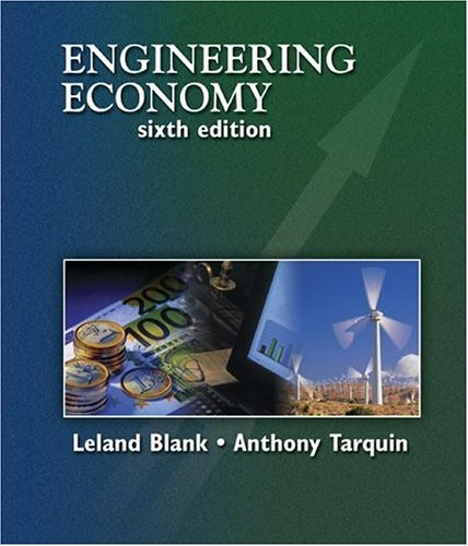 Engineering Economy  6th 2005 (Revised) edition cover
