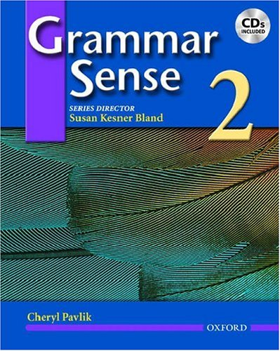 Grammar Sense  Student Manual, Study Guide, etc.  9780194366342 Front Cover