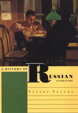 History of Russian Literature  N/A 9780300059342 Front Cover
