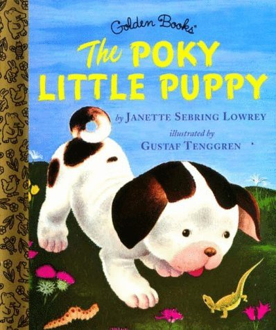 Poky Little Puppy   1970 edition cover