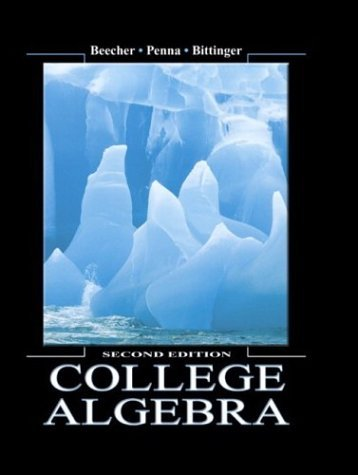 College Algebra  2nd 2005 (Revised) edition cover
