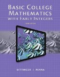 Basic College Mathematics with Early Integers  3rd 2015 edition cover